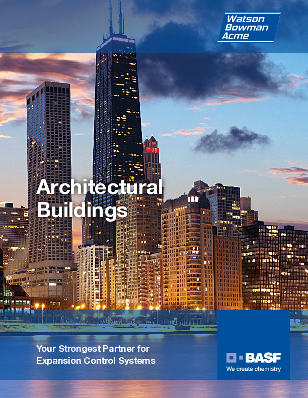 Wabo® Architectural Buildings brochure Cover