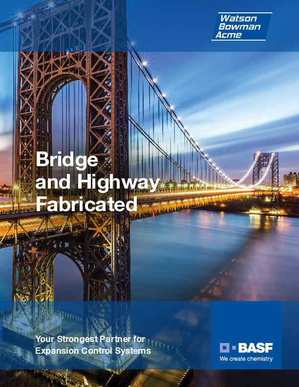 WBA Bridge & Highway Fabricated Systems Cover