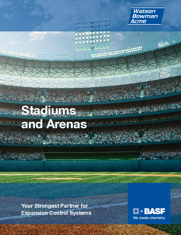 Wabo® Stadiums and Arenas overview brochure Cover